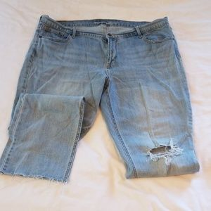 Old Navy Flare Crops